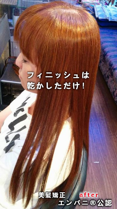 東京美髪研究所承認 江東区トリートメント不要美髪矯正