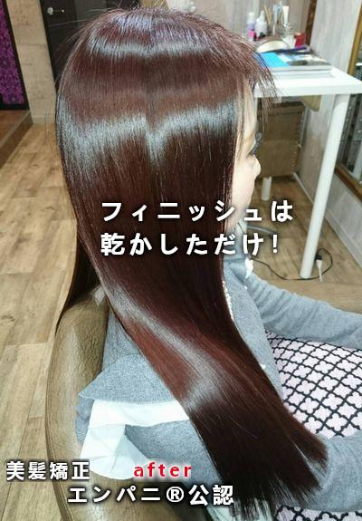 東京美髪研究所承認|文京区トリートメント不要美髪矯正
